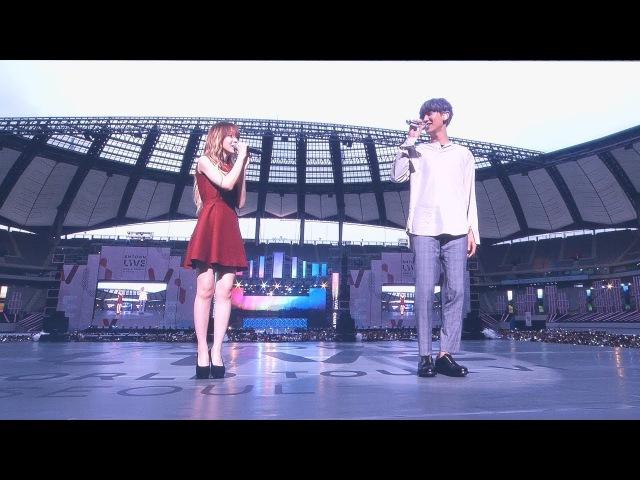 170708 찬열 X 웬디 Chanyeol Wendy _ Stay With Me (도깨비 ost) _ SM TOWN LIVE Concert