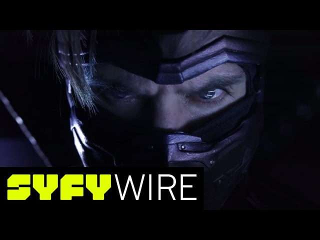 Ninjak vs. The Valiant Universe Exclusive Clip with Chantelle Barry | SYFY WIRE