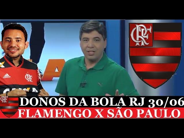 'BERRIO NAMOROU ANTES DO JOGO!' Diz EDILSON - DONOS DA BOL4 RJ 30-06-2017 FLAMENGO