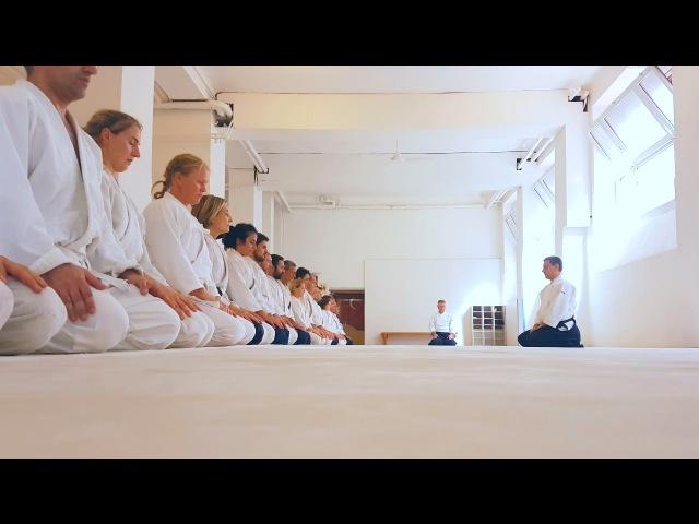 Roberto FOGLIETTA Roberto TRAVAGLINI • Aikido Seminar @Aikikai Milano
