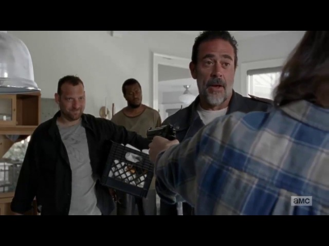The Walking Dead 7x04: Carl Threatens Negan [HD]