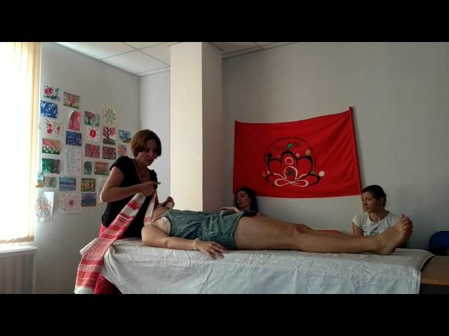 Тканевые техники (массаж Ребозо) материал для обучения.