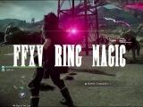 Final Fantasy XV Ring Magic Death Spell First Look