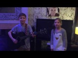 Tom Mouse Smith and Hannah Singing Saturn 5 by Inspiral Carpets