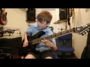 8 Year Old Wilfie Plays Sweet Child O Mine By Guns 'N Roses