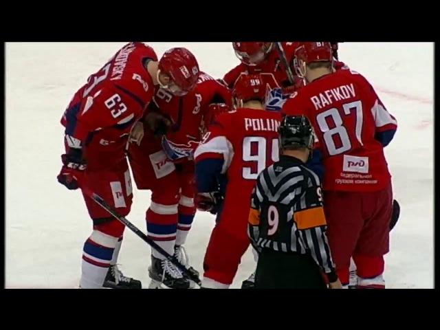 Korshkov gets seriously injured in Megalinsky collision