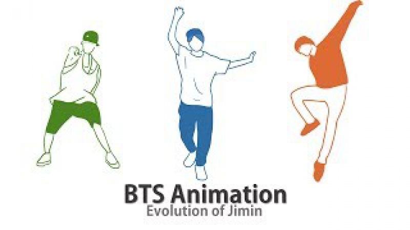 BTS Animation – Evolution of Jimin