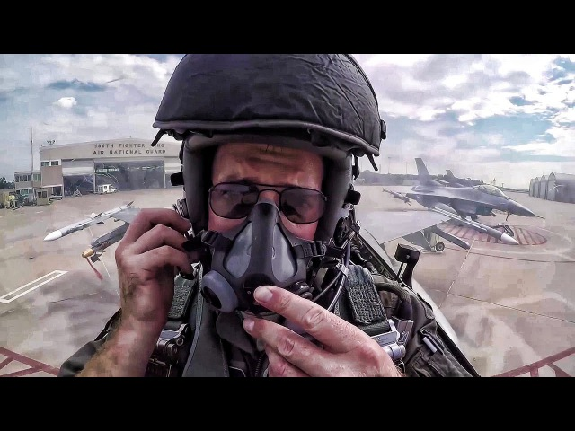 F-16 Pilot Prep, Maintenance Munitions Cockpit Video