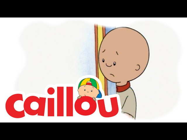 Caillou - Caillous All Alone (S01E04) | Cartoon for Kids