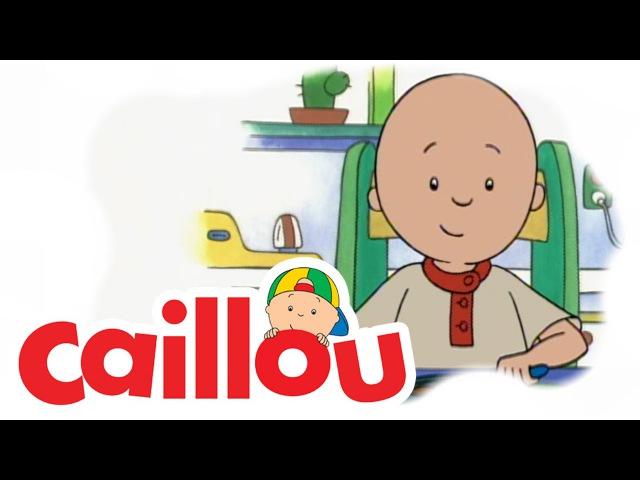 Caillou - Caillou Tidies His Toys (S01E05) | Cartoon for Kids