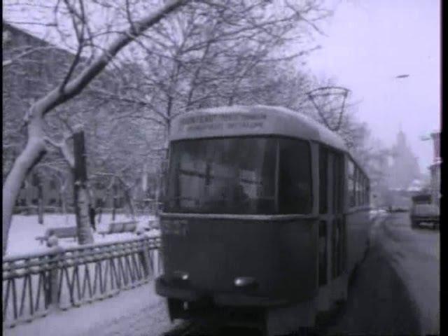 А в Москве зима. 1975г Видовой Док. фильм СССР.