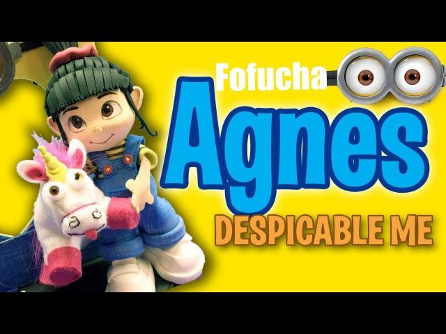 Fofucha Agnes Mi Villano Favorito Agnes Fofucha Despicable Me