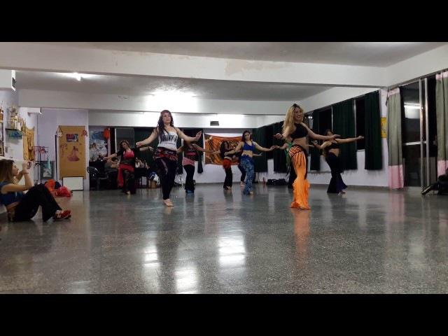 Juliana Aragon - Baladi Nostalgia junto a Iláhun (Seminario en Salta)