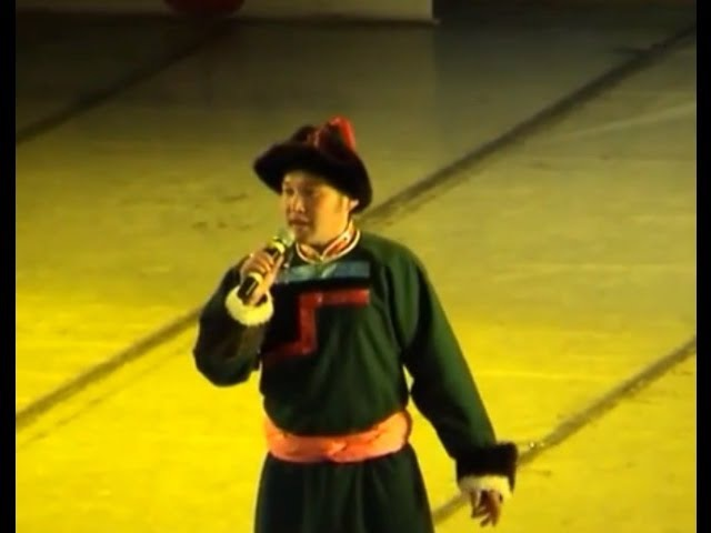 2011 Buryaad duu Цыден-Еши Бимбаев Классная бурятская песня Буряад