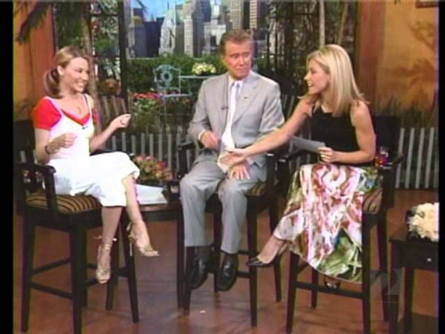 Kylie Minogue - Interview (Regis Kelly 2002)