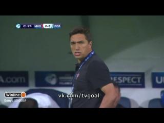 Чeмпиoнaт Eвpoпы U-21. Macedonia 0:2 Portugal | Бpyмa
