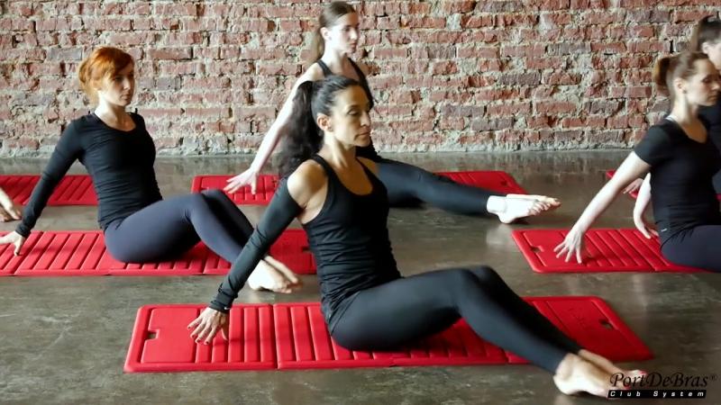 Video classes PortDeBras Club System for fitness clubs www.portdebrasclubsystem.com