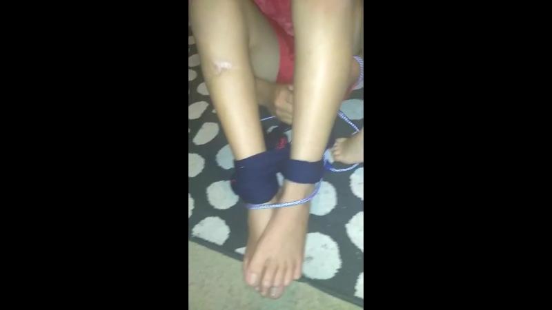 Ji got tied up