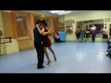 Открытый урок в танцевальном клубе