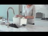 Joseph Joseph WashDrain - Dishwashing bowl with straining plug