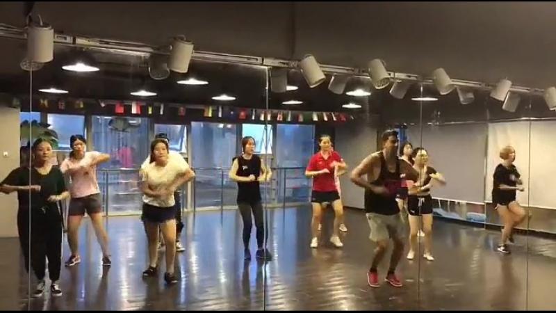 House dance practice!