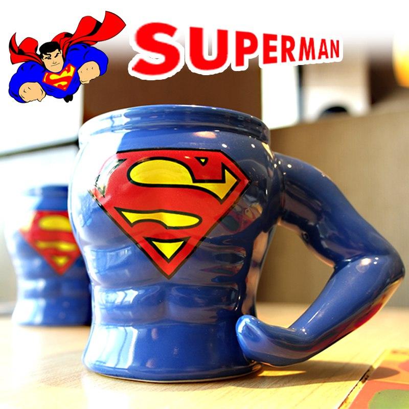 Брутальная кружка Superman