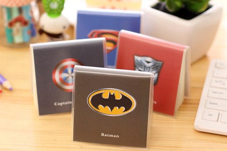 Стикеры в супергеройской обложке