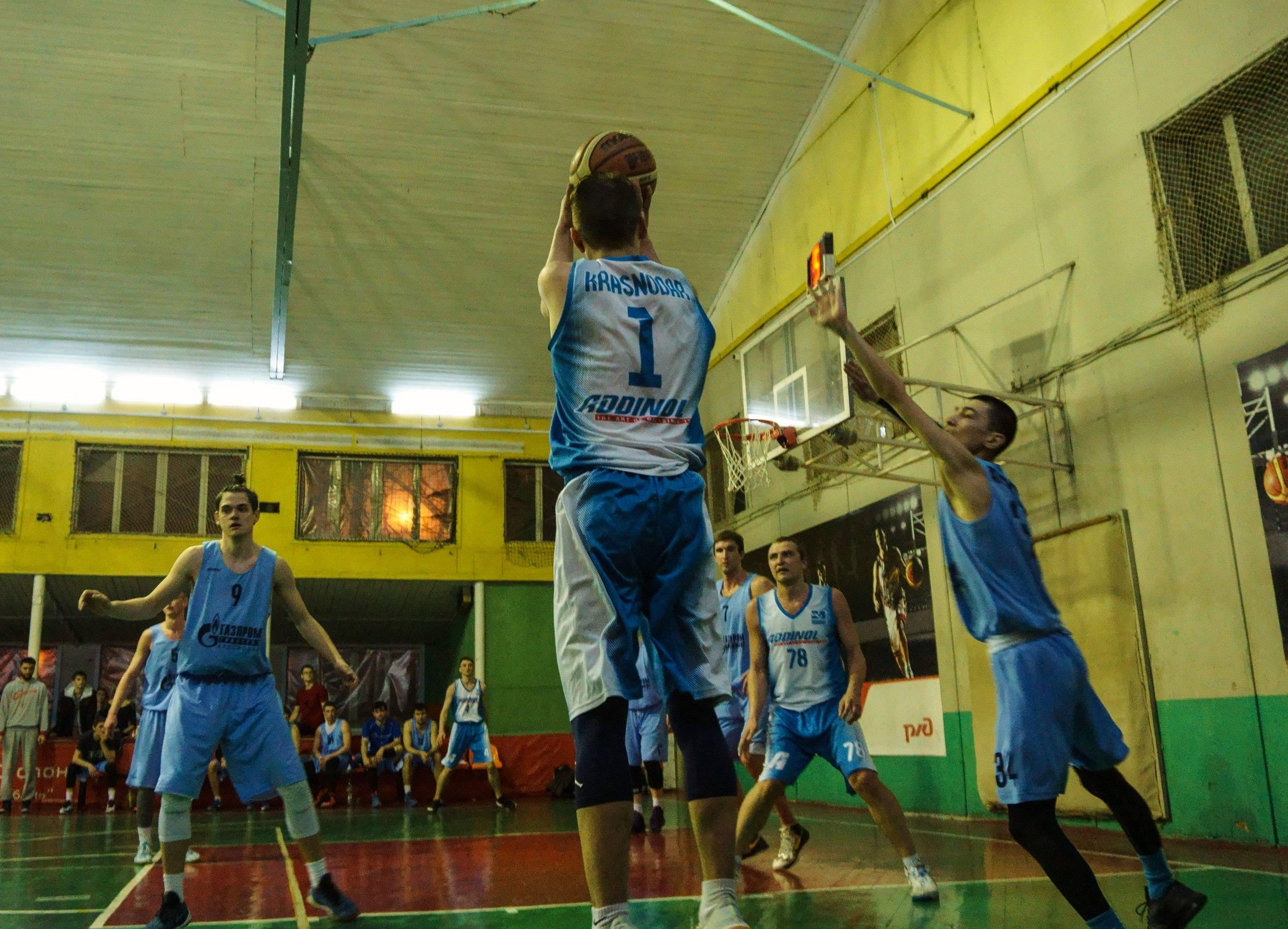 Лига КАУБ 5х5 баскетбол в Краснодаре