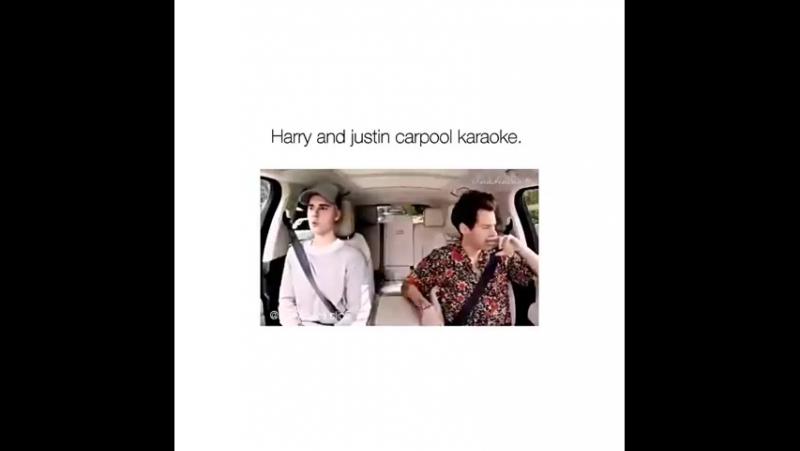 Карпул караоке с Джастином и Гарри