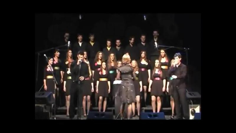 Rammstein von Viva Vox Choir -- Du hast (a cappella) - ORIGINAL