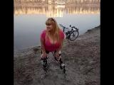 Мила Кузнецова | Mila Kuznetsova (boobs, big tits, ass, plussize, busty, ukrainian, сиськи, большая грудь, украинки, блондинки)