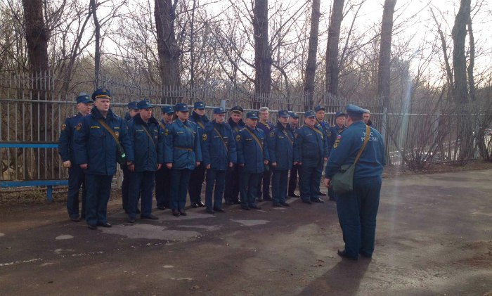 В Российской Федерации  стартовал 2-ой  этап широкомасштабных учений МЧС