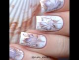 Дизайн ногтей по сырому лаку