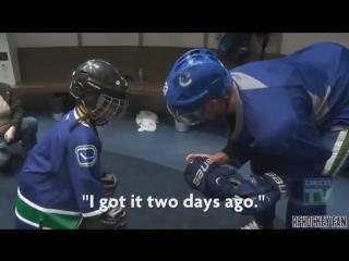 Добрые и достойные поступки хоккеистов
