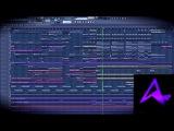 Aeris - Valhalla(Animadrop Remix) FL Studio 12 Playthrough
