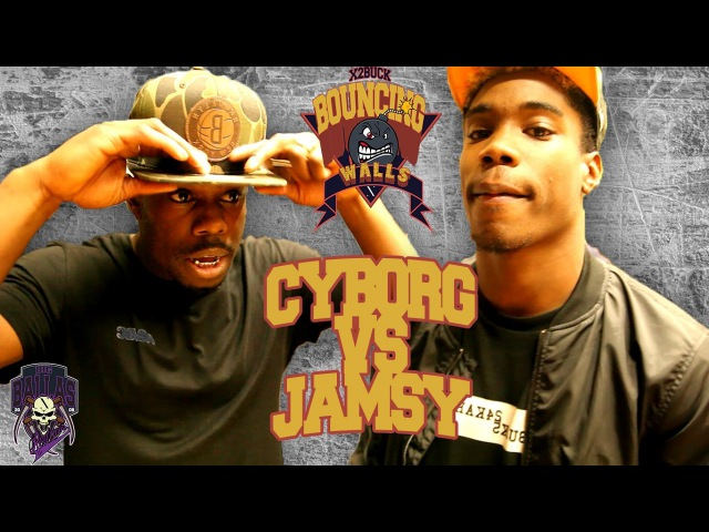 CYBORG VS JAMSY BOUNCING WALLS SESSION Krump battle paris
