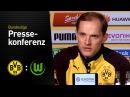 Thomas Tuchel nach dem Heimsieg gegen Wolfsburg | BVB - VfL Wolfsburg 3:0