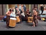 Превосходная шотландская музыка на улицах шотландии