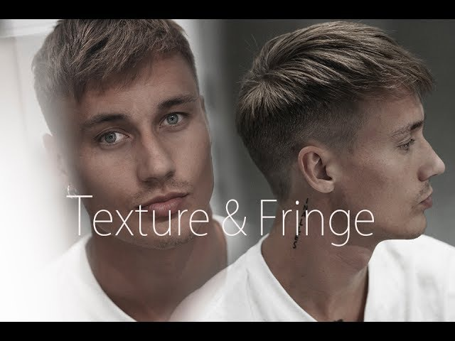 Men's hair inspiration - messy modern hairstyle with short spiky fringe - NEW 2017