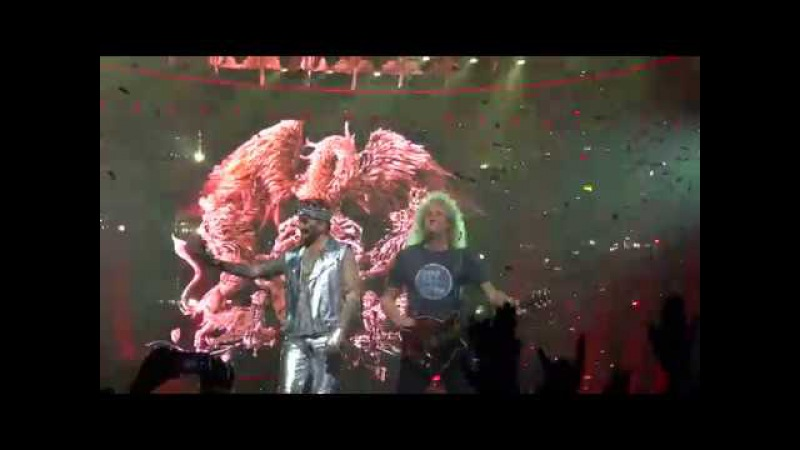 Queen Adam Lambert - We Are The Champions @ Palace of Auburn Hills Detroit Mi 07/20