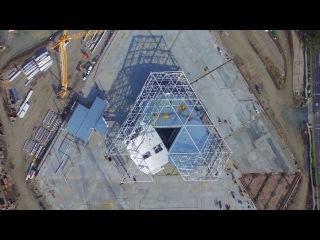 Новое здание штаб-квартиры NVIDIA с высоты птичьего полета