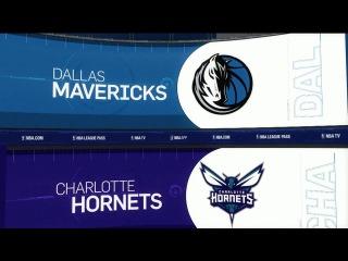 Обзор НБА Шарлотт Хорнетс – Даллас Маверикс 02.12.16