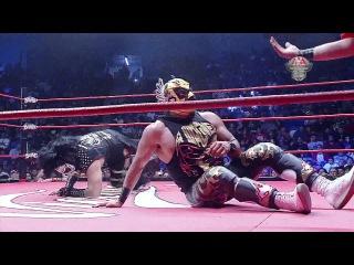 Faby, Wagner y Psycho Vs Poder del Norte en Tijuana - Lucha Libre AAA Worldwide - Mayo 2017