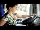 World Amazing Talented Girls Driving Big Trucks Best at Great Work