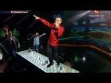 «Х-фактор-5» /Трио «Экстрим» и Олег Скрипка - Весна /Седьмой прямой эфир(20.12.2014)