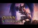 Quinn Demacia's Wings Login Screen League of Legends