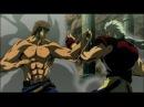 Shin Hokuto no Ken - Kenshiro vs Seiji (English Dub)