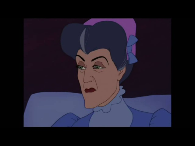 Cinderella 1950 Disney The evil stepmother
