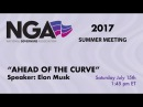 NGA 2017 SUMMER MEETING — Introducing the New Chairs Initiative Ahead of the Curve