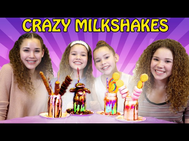 CRAZY Candy Birthday Milkshakes! Gracie's 15th Birthday Surprise!!